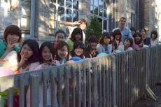 Japanese students warmed by Whitby and beyond in Canada