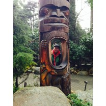 Totem in Stanley Park, British Columbia