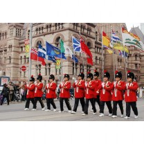 Province Flags at the Toronto Victoria Day Parade, Ontario